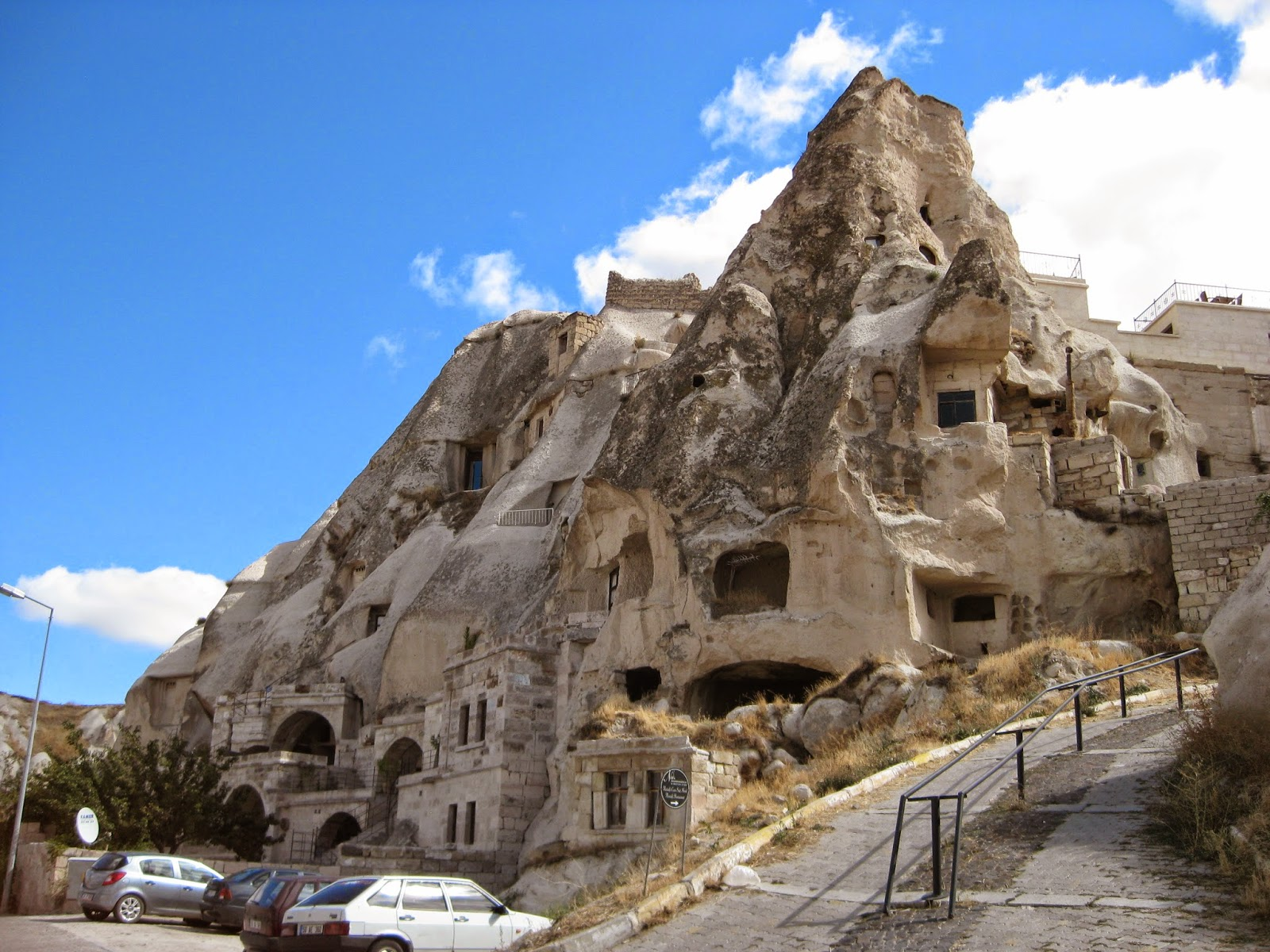 Cappadocia - Residential caves near our hotel