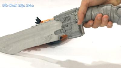 vũ khí dao Nerf chống zombie