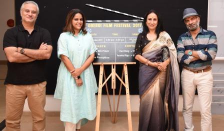 Newztabloid, Oberoi Film Fest, Porus Khareghat, Meghna Puri , Anjana Sood . JD Majethia
