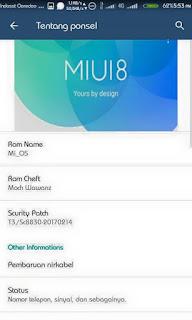 Cusrom MIUI Final For Advan i4D