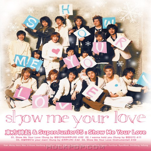 Super Junior & TVXQ – Show Me Your Love – Single (ITUNES PLUS AAC M4A)