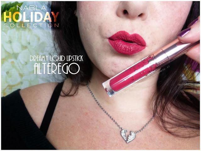 alterego  liquid lipstick  nabla rossetto liquido