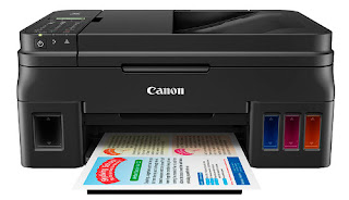Canon has joined printer makers who offering refillable ink cartridges Canon Pixma G4600 Driver Download