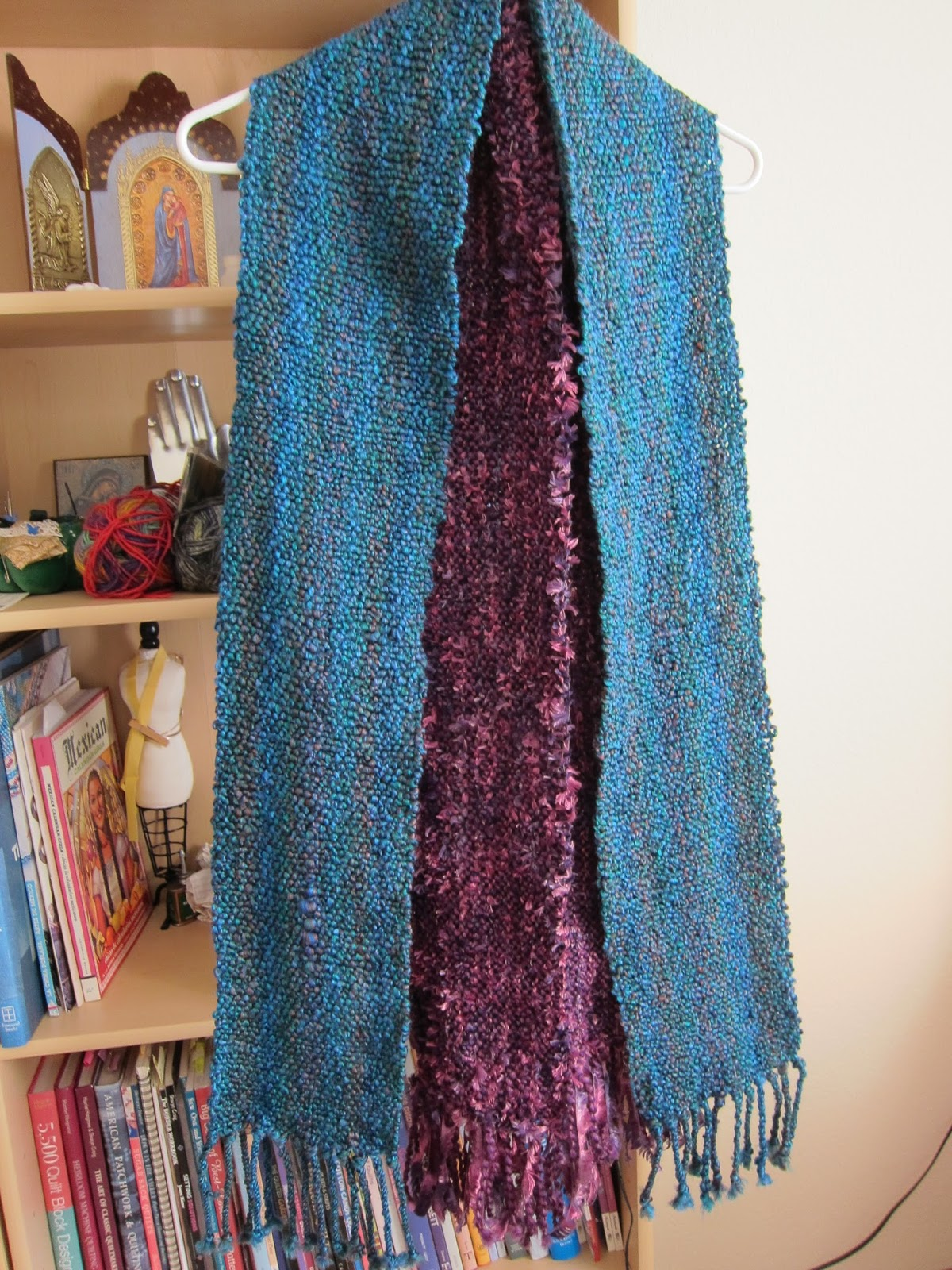 Thinking Out Loud Scarf Weaving On The Rigid Heddle Loom