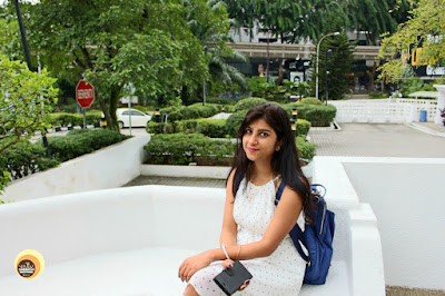 Outdoor sitting area at Hotel Istana, Kuala Lumpur, Featuring Blogger Anamika Chattopadhyaya
