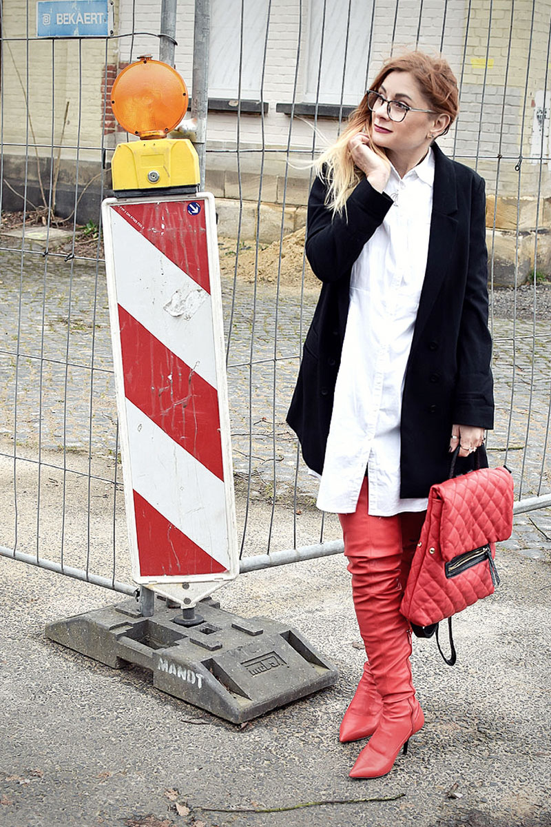 was passt zu roten Schuhen, was kann ich zu roten Stiefeln kombinieren