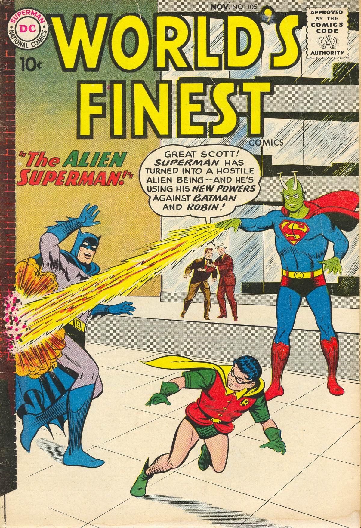 Read online World's Finest Comics comic -  Issue #105 - 1