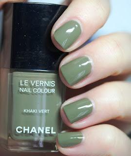 Chanel Le Vernis Nail Colour Khaki Vert