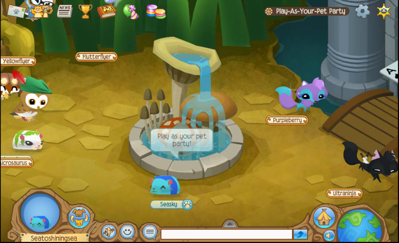 Desk And Chair Animal Jam Covers For Dogs Sasha 39s Jamming Blog Play As Your Pet Party