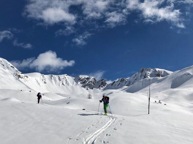 Aufstieg Skitour Innsbruck