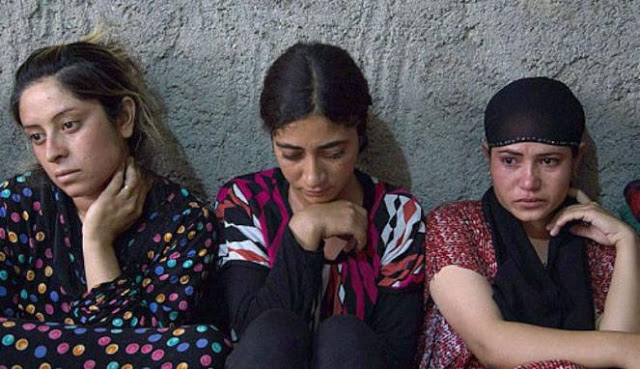 Ngeri! Ini Nasib perempuan pengikut serta sandera ISIS, disiksa serta dilelang di pasar budak