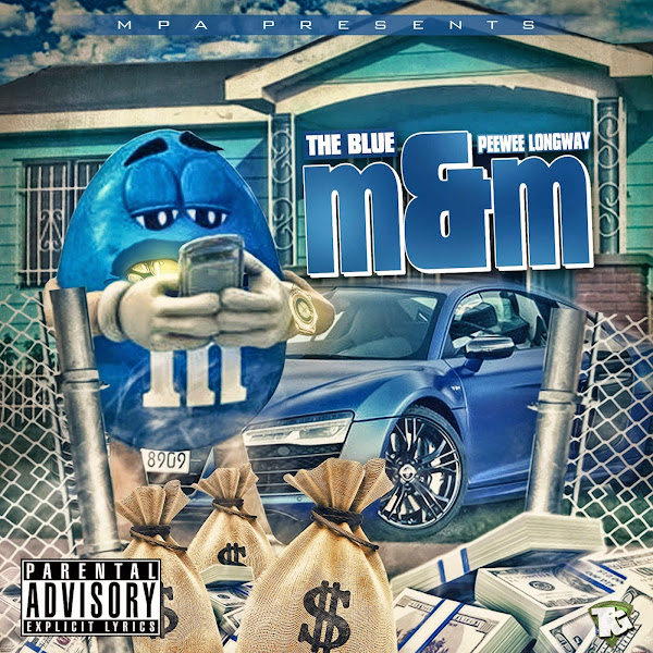 Peewee Longway - Blue M&M Cover