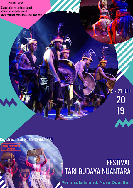 Lomba Festival Tari & Budaya Nusantara 2019 Umum di Bali