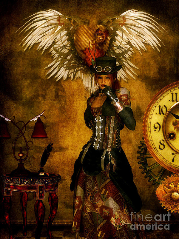 Fantasy Art For Home And Office Steampunk And Victorian