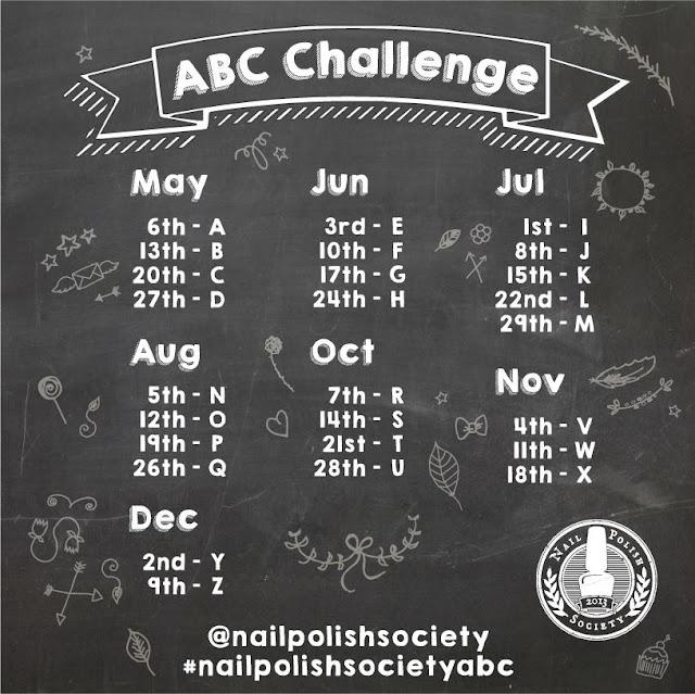 ABC challenge schedule