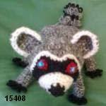 patron gratis mapache amigurumi, free pattern amigurumi raccoon