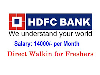 HDFC-BANK-walkin-for-freshers