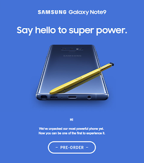Images Of Samsung Galaxy Note 9