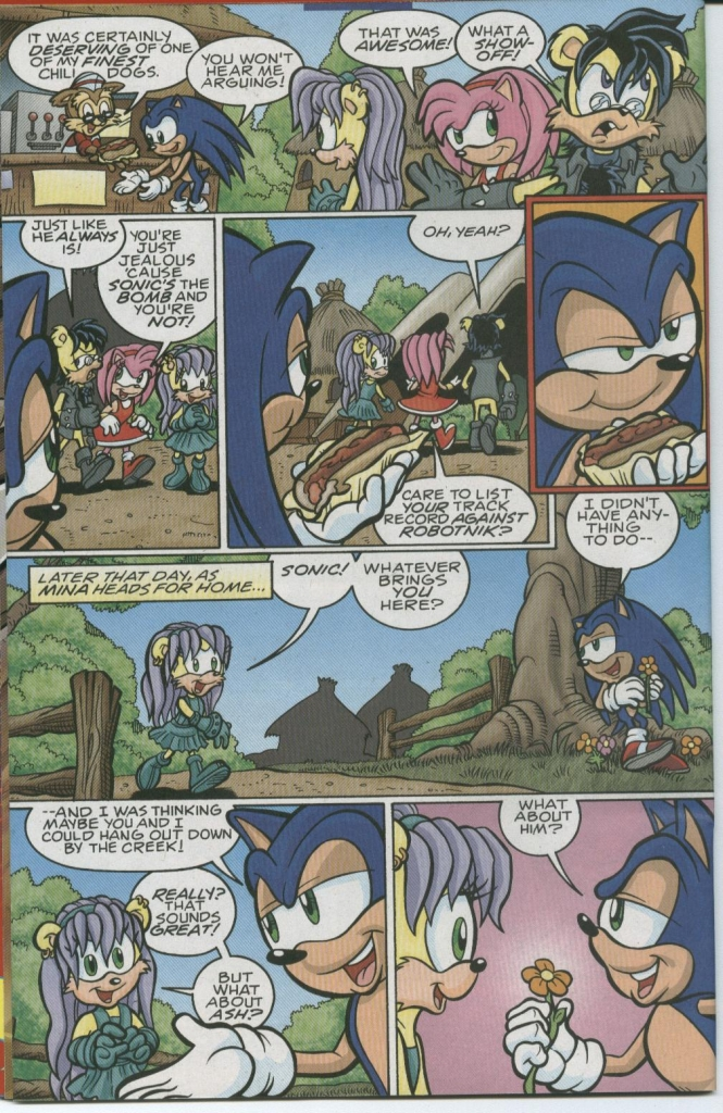 Read online Sonic The Hedgehog comic -  Issue #150 - 4