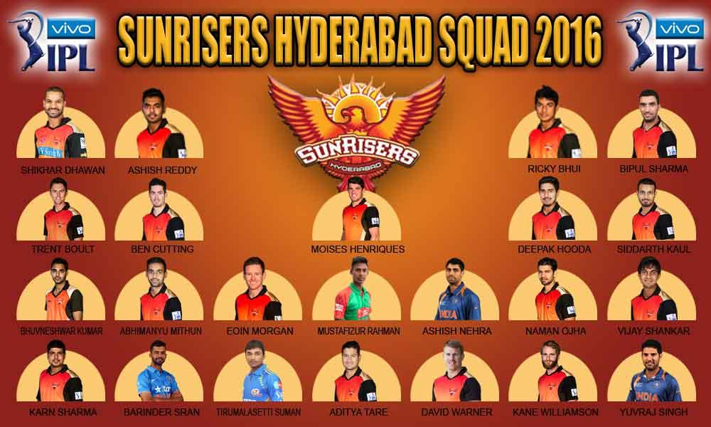 Sunrisers Hyderabad Squad | IPLCricket