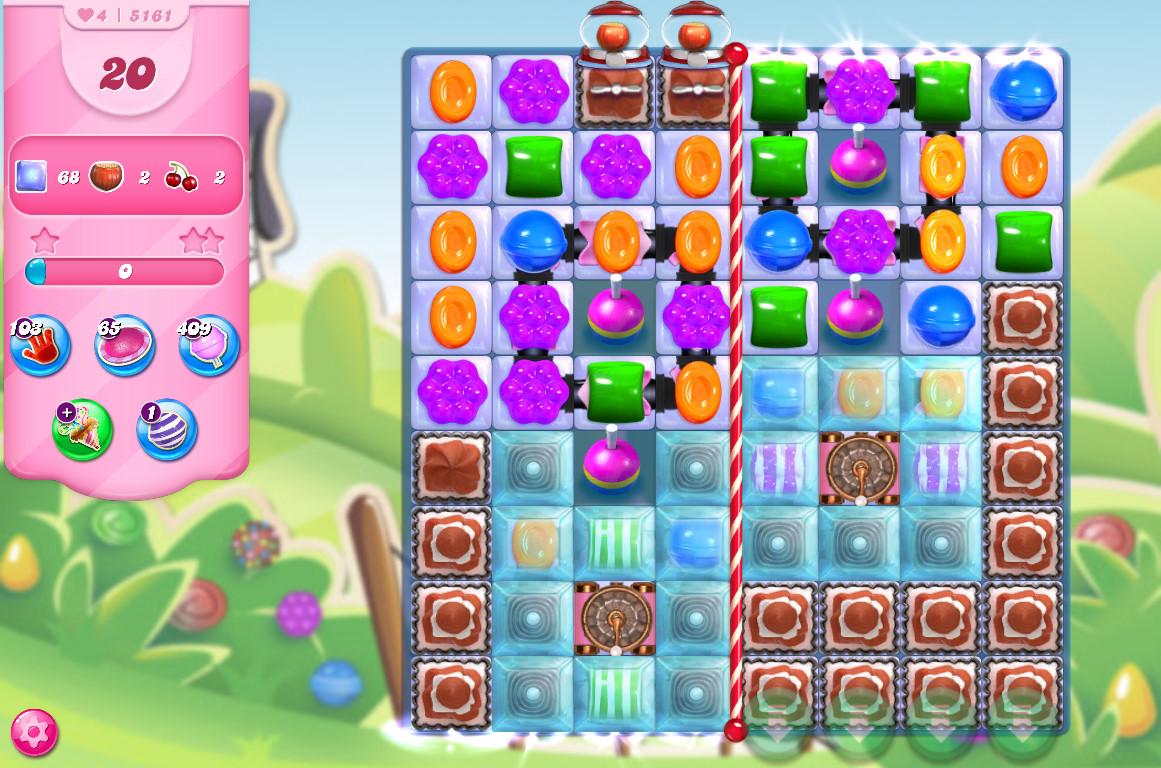 Candy Crush Saga level 5161