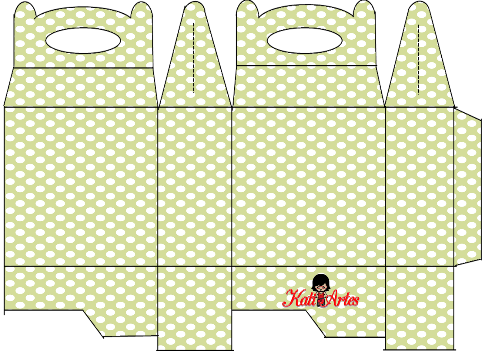 image about Dots and Boxes Printable identified as Polka Dots: Absolutely free Printable Lunch Box. - Oh My Fiesta! inside of english