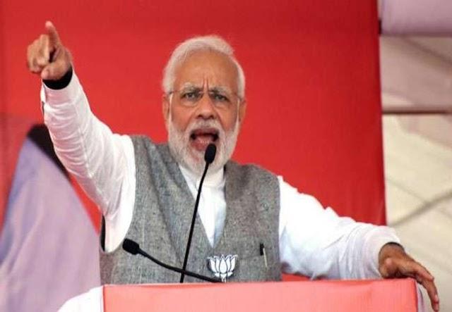 """""""यहाँ से बोटी-बोटी करने वाले साहब भी हैं, मोदी जी सहारनपुर जनसभा में"""
