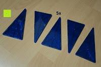 Dreieck groß blau: Playbees 100 Teile Magnetische Bausteine Set für 2D und 3D Form Konstruktionen, Regenbogenfarben Magnetspielzeug, Baukasten Magnetspiel, Magnetbausteine