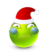 Christmas Smiley Icon 20