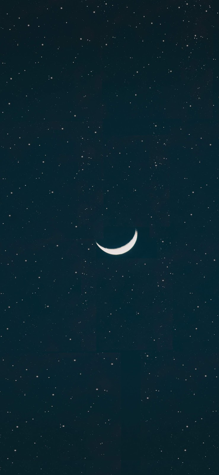 crescent moon wallpaper iphone x