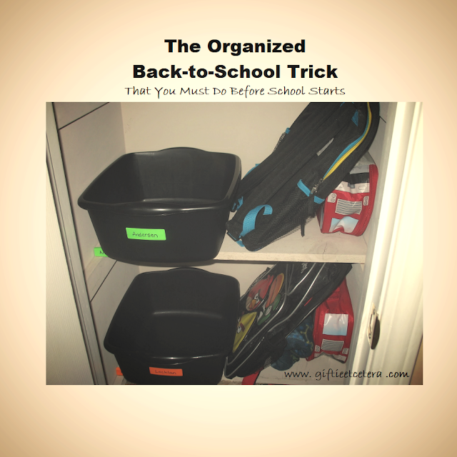 organize, organizing, launch pad, launch and land zone, back to school