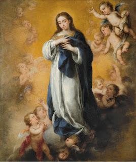 Inmaculada Concepción - Murillo - Óleo sobre lienzo Hacia 1670 The Nelson-Atkins Museum of Art - Kansas City