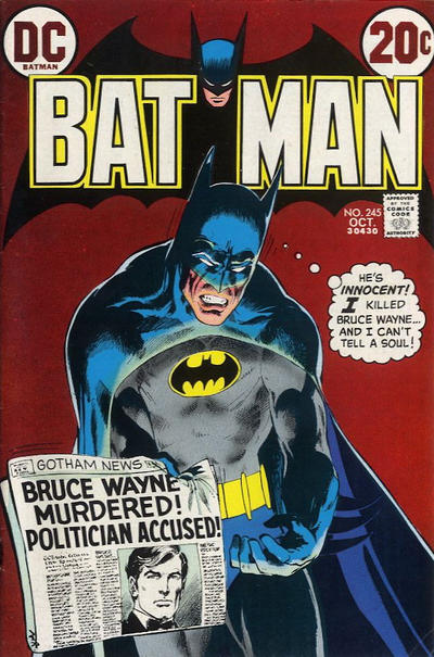 barebones ezine Batman in the 1970s Part 20 September