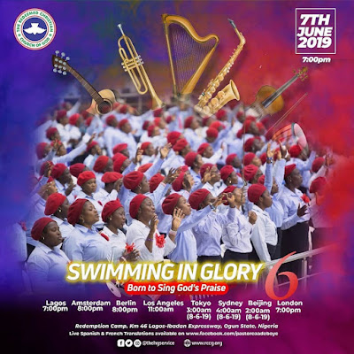 PRAYER POINT : SWIMMING IN GLORY 6 -  BORN TO SING GO'S PRAISE