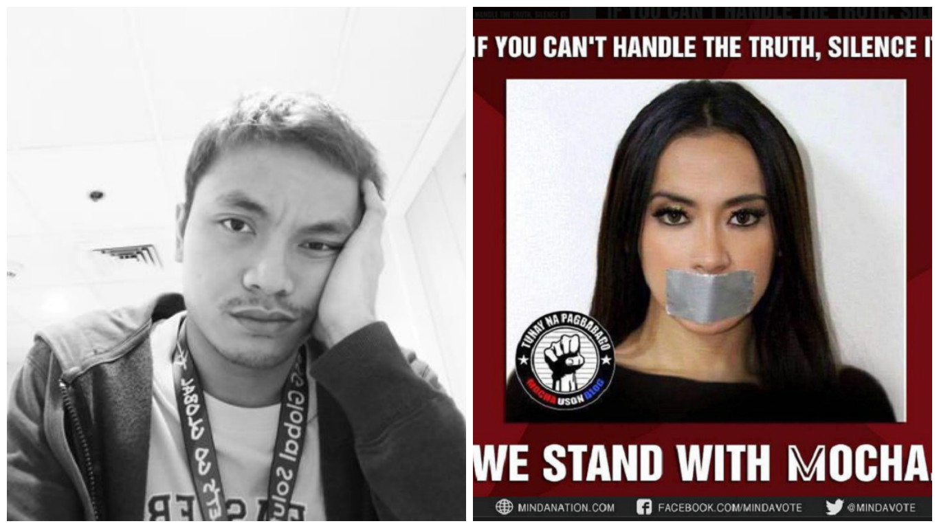 Facebook account of Anti-Mocha Uson petitioner gets suspended