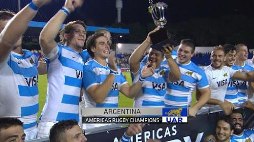 ArgentinaXV Campeón de la Americas Rugby Championship