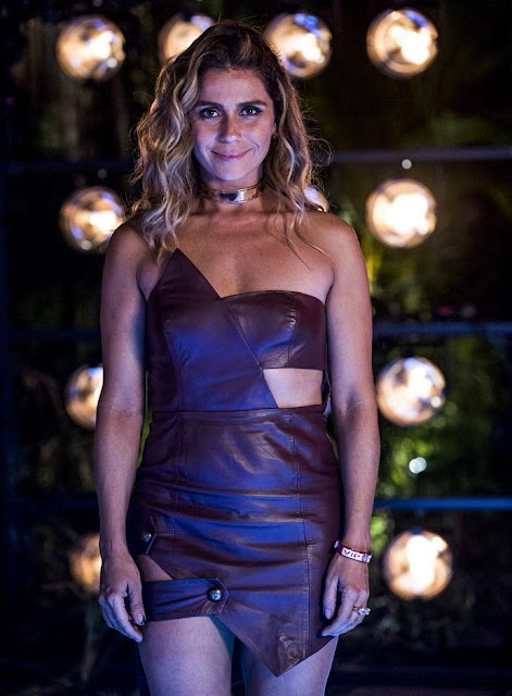 Figurino Atena (Giovanna Antonelli) A regra do jogo