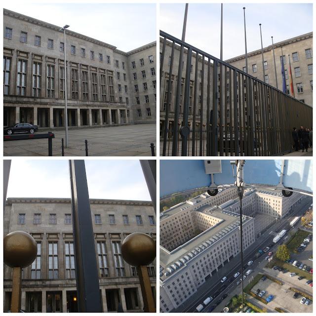 Antigo prédio da Luftwaffe, hoje Ministério das Finanças em Berlim