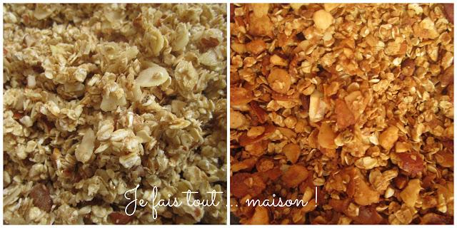 granola maison facile