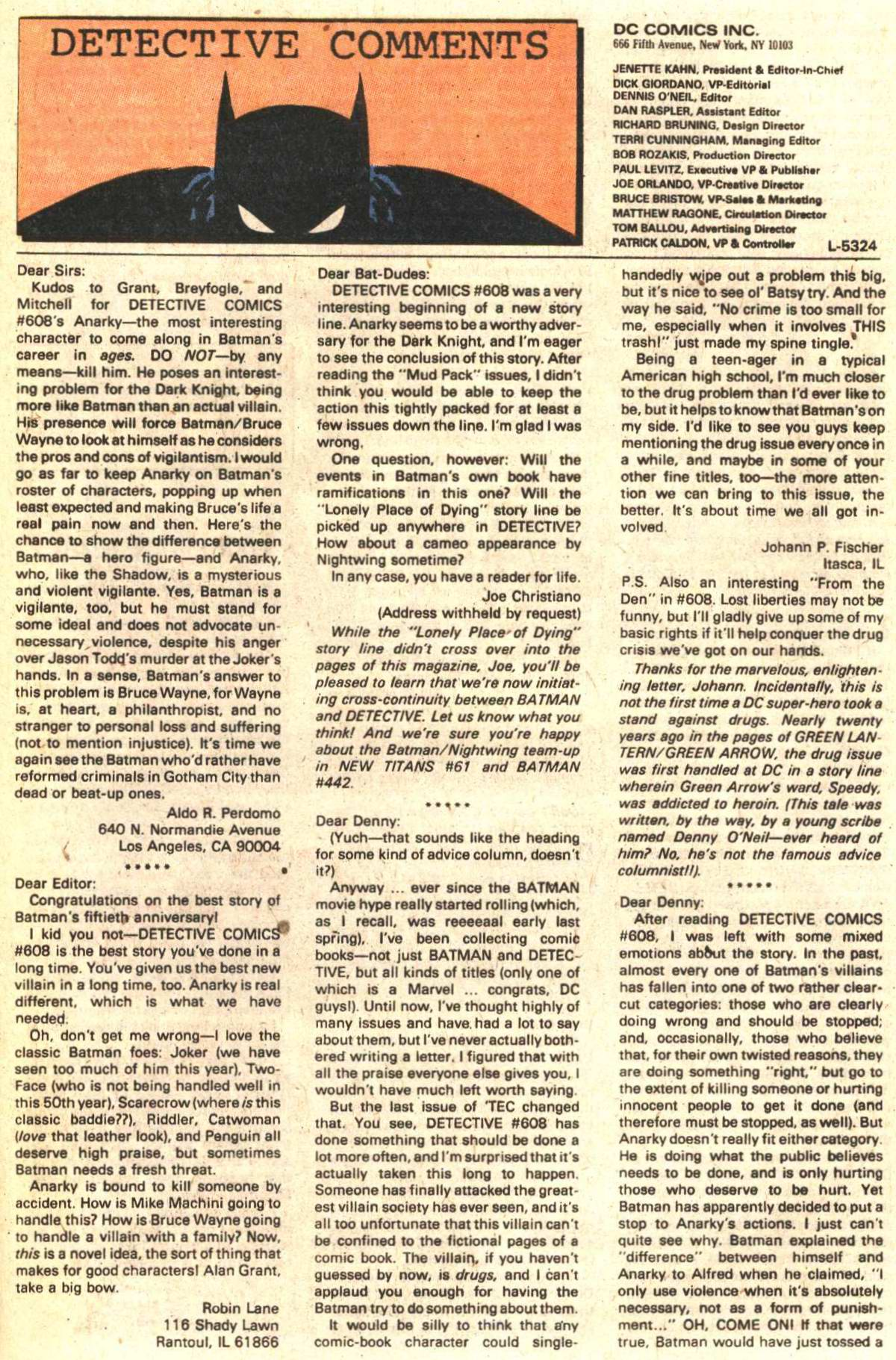 Detective Comics (1937) 612 Page 23