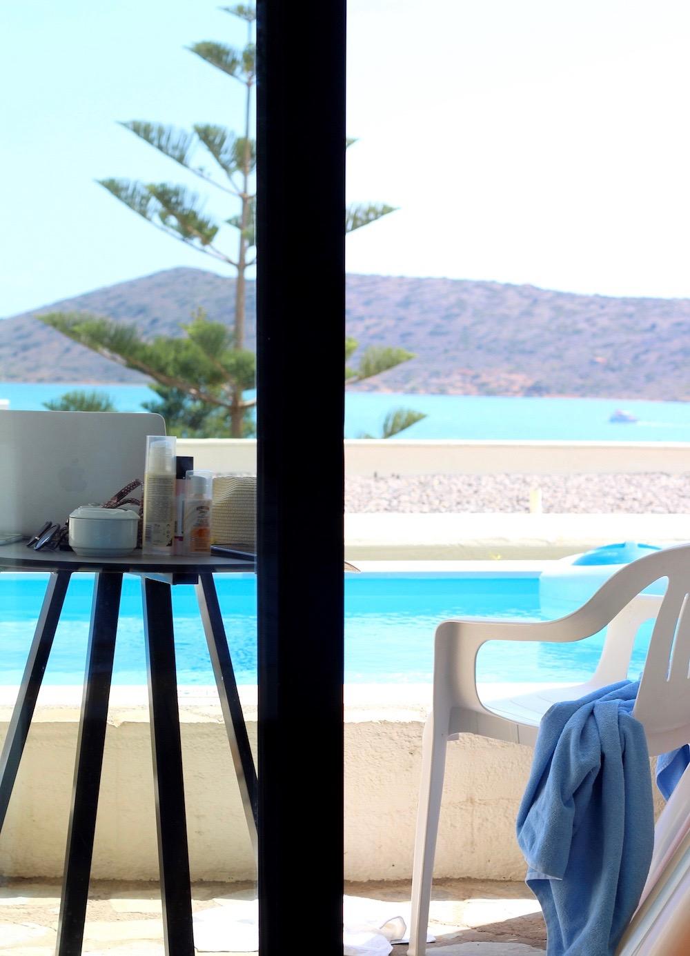 pool view hotel elounda blu