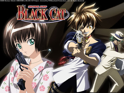 Anime Black Cat