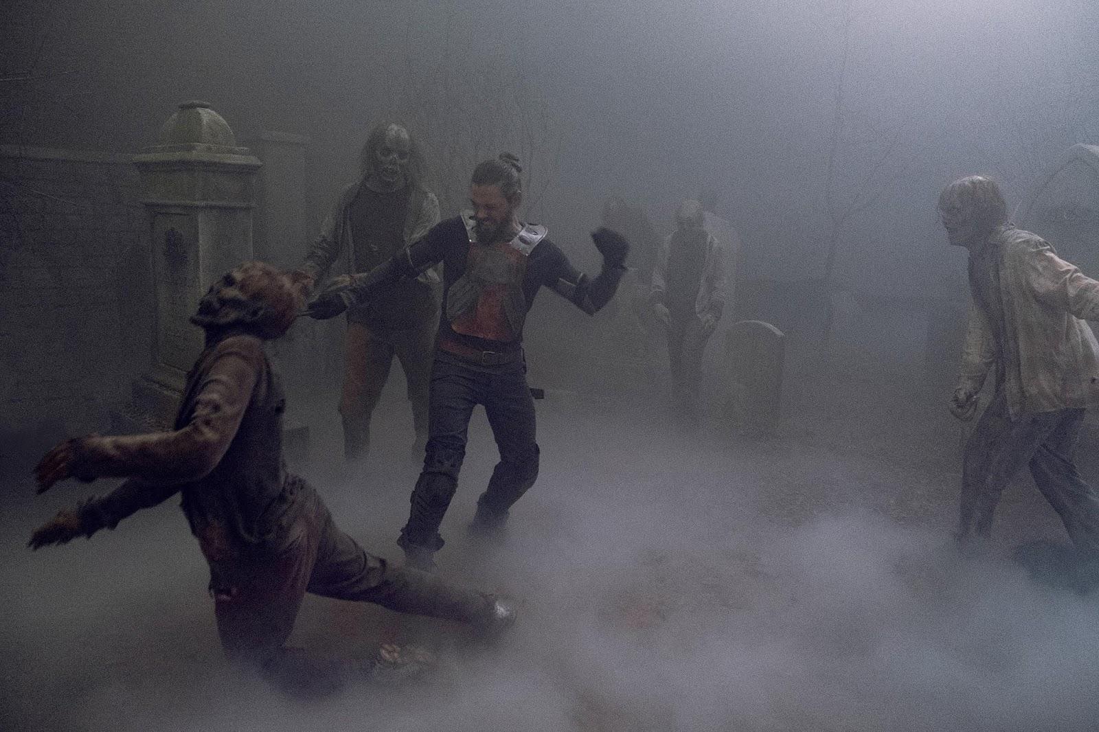 Jesus y los Susurradores en The Walking Dead