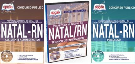 Apostila da Prefeitura Municipal do Natal TÉCNICO DE ENFERMAGEM
