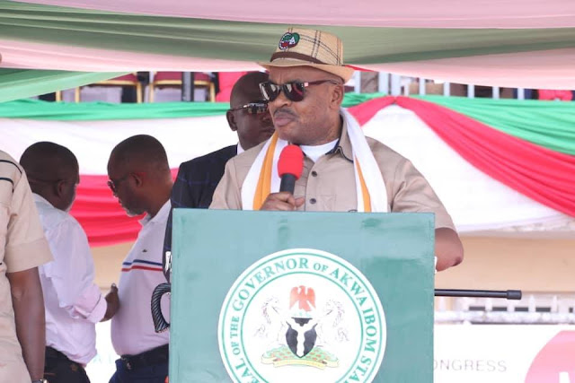 BEING THE SPEECH BY HIS EXCELLENCY, MR. UDOM EMMANUEL, GOVERNOR, AKWA IBOM STATE AT THE OCCASION MARKING THE MAY DAY CELEBRATIONS, UYO TOWNSHIP STADIUM, MAY 1ST, 2019