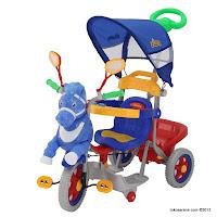 Sepeda Roda Tiga Family F9931T Kuda New 2012