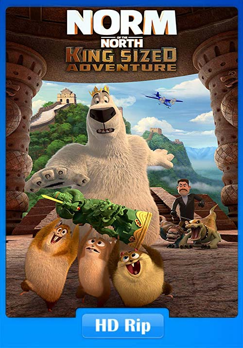 Norm of the North King Sized Adventure 2019 720p WEB-DL | 480p 300MB | 100MB HEVC