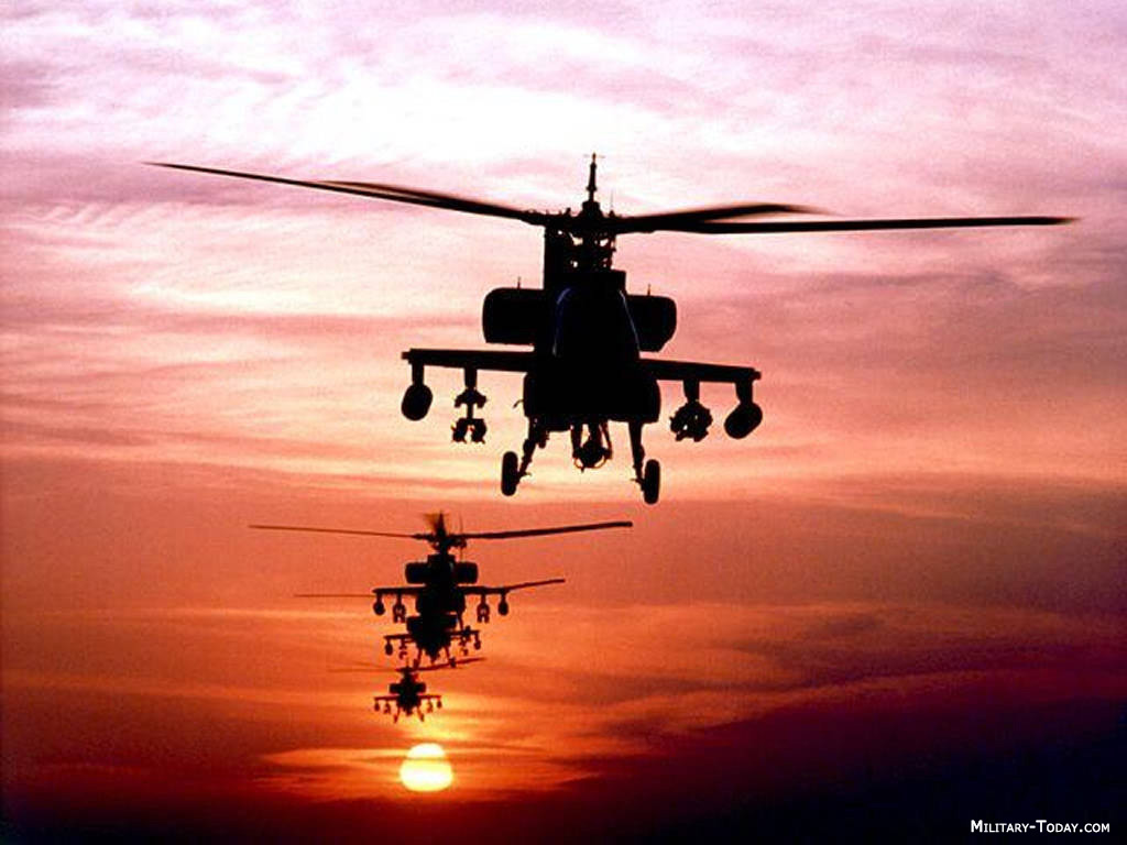 Jet Airlines: AH64A Apache Helicopter