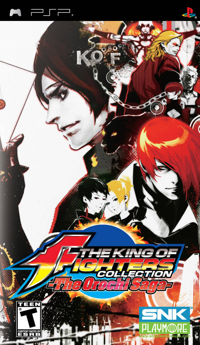 ROMs - The King of Fighters - The Orochi Saga - PSP Download