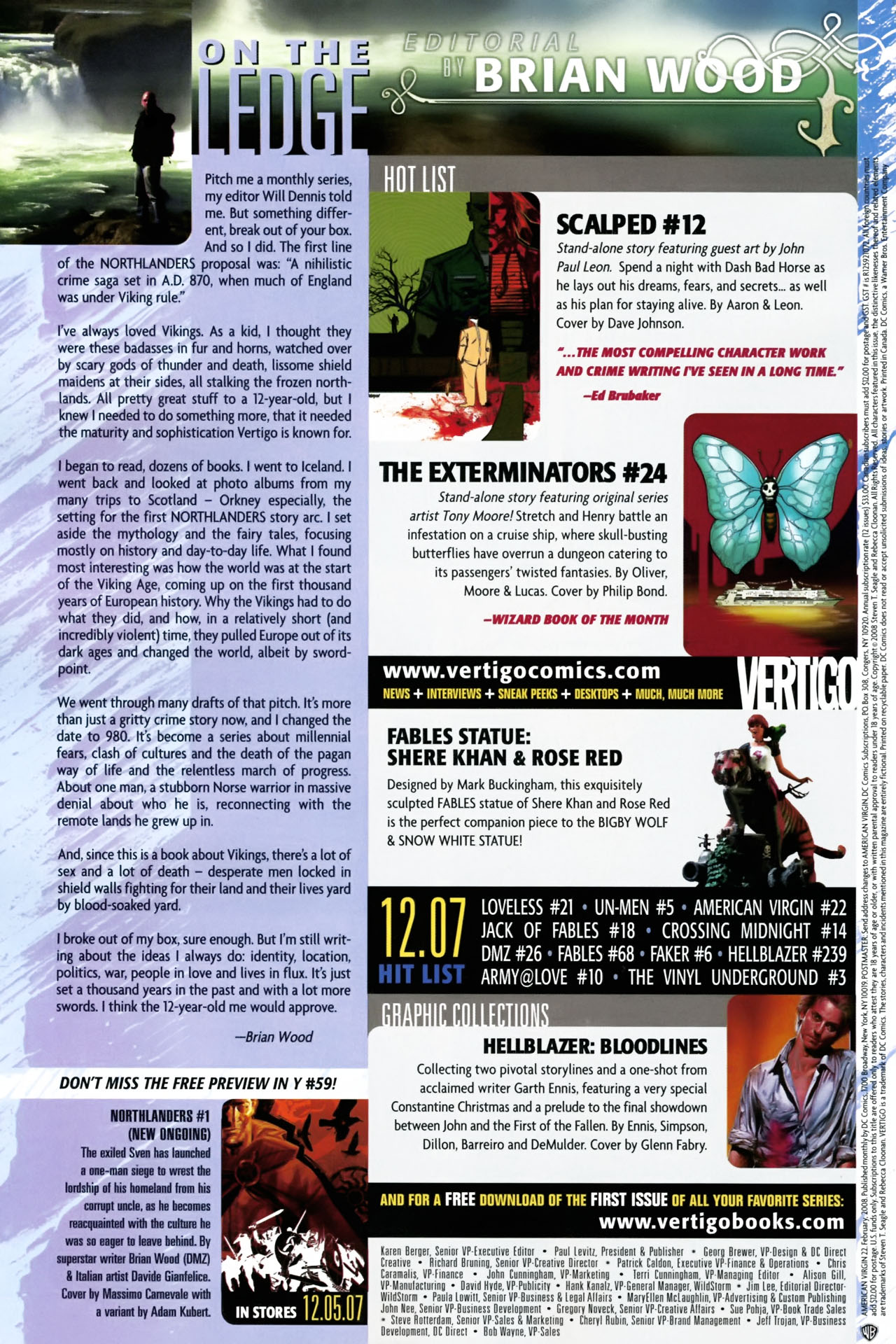 Read online American Virgin comic -  Issue #22 - 24